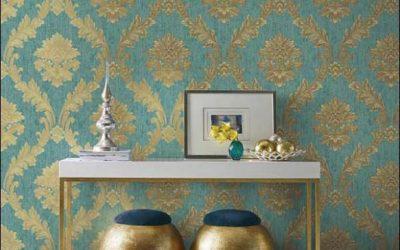 Hertex mixed metals Wallpaper