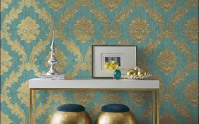 Hertex mixed metals Wallpaper