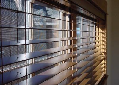 genuine wooden venetians